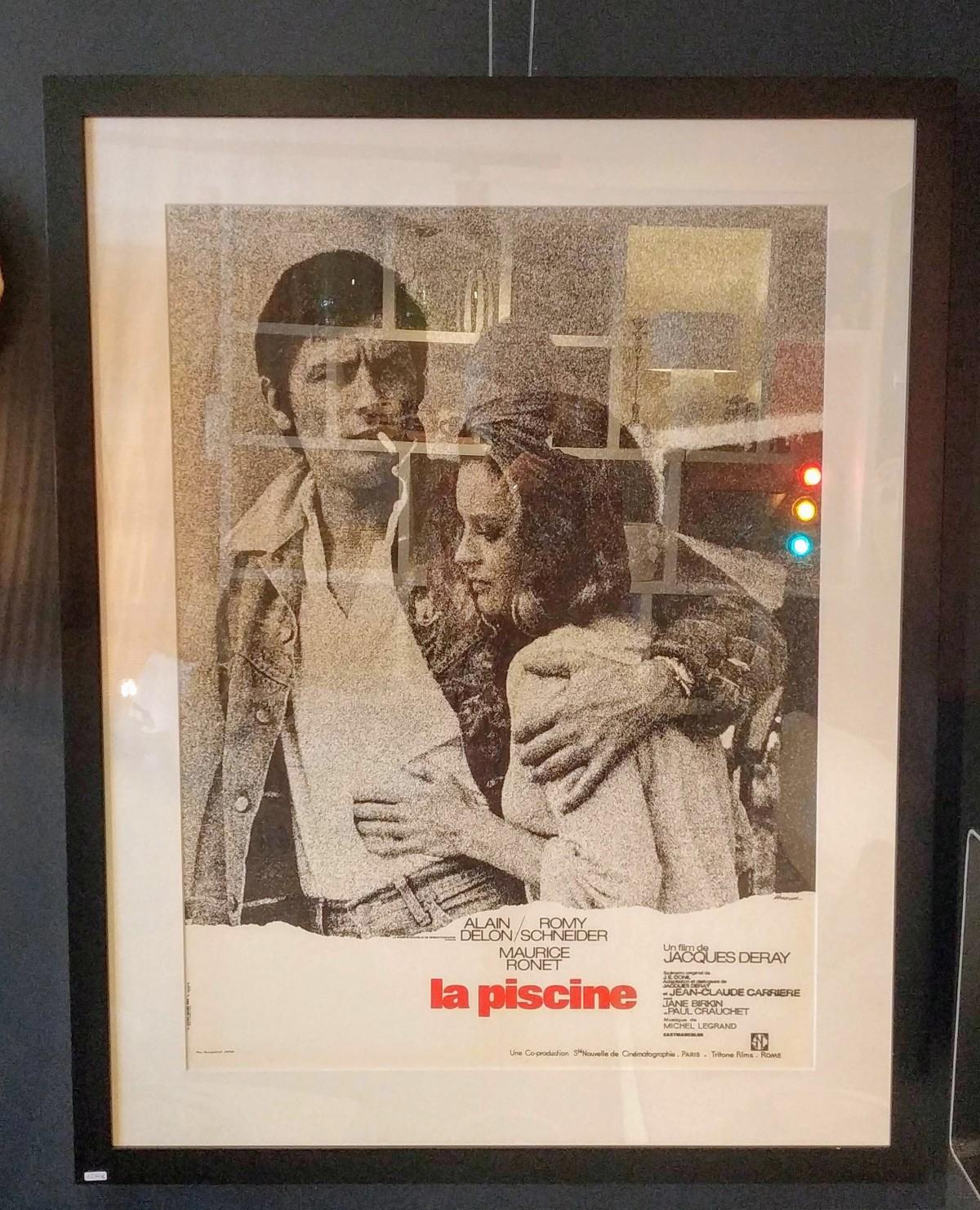 """Affiche """"La Piscine"""" Vintage"""