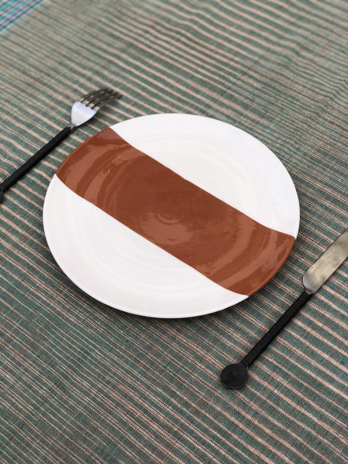 Assiette Terracotta
